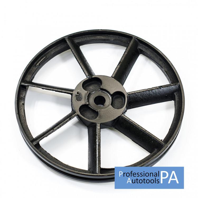 Шкив к компрессору одинарный диаметр 320 мм. PAtools 32B-1A320