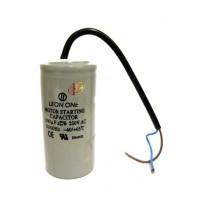Конденсатор пусковой 1000 mF CD60 330 VAC, провода (4488)
