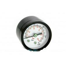 Манометр для компрессора черный, 40мм 1/8 PAtools КомпМан40-1/8 (4582)