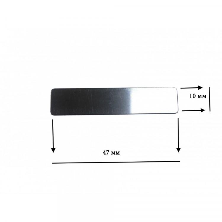 Лепестковый клапан под головку цилиндра (прямоугольный) 10 х 47мм PAtools КомпЯз3 (6130)