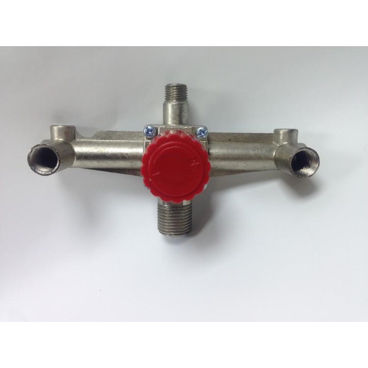 Контрольно-распределительный блок компрессора с регулятором давления Металическая PAtools КомпРога3