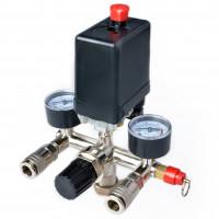 Автоматика для компрессора в сборе 220 вольт Intertool PT-9094