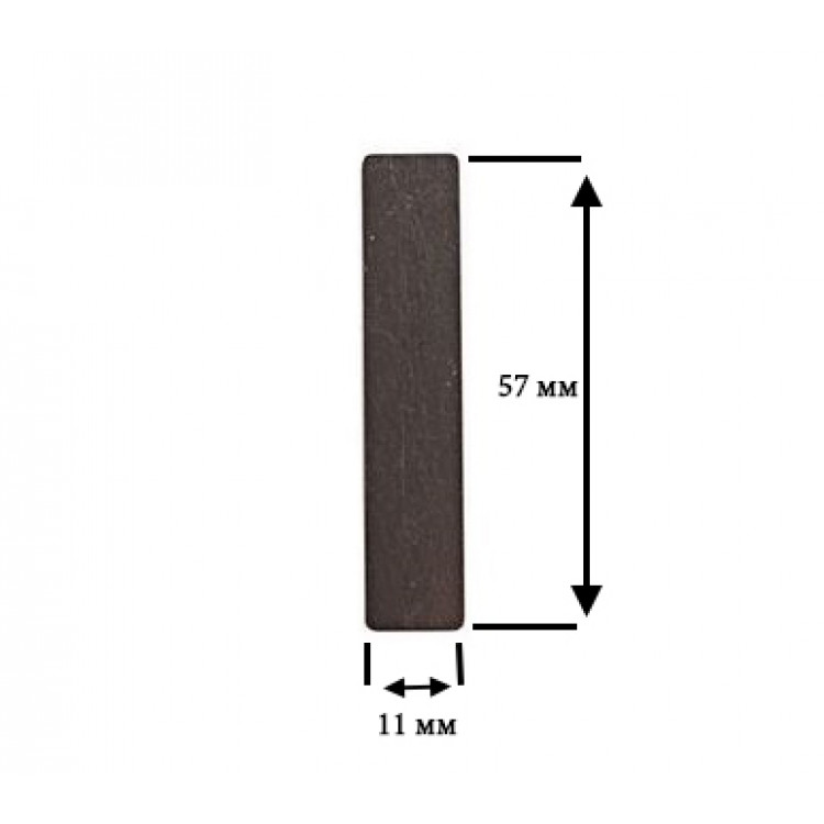 Лепестковый клапан под головку цилиндра (прямоугольный) 11 х 57мм PAtools КомпЯз4