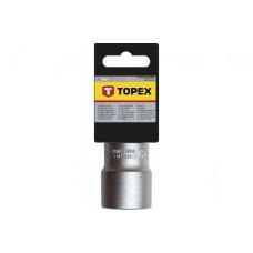 Головка торцевая 1/2 , 6гр, 12мм, CrV Topex 38D712