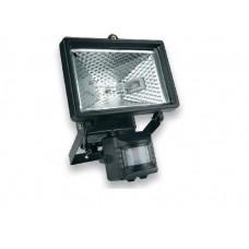 Прожектор галогеновый 150 Вт с датчиком движения, черный Topex 94W022