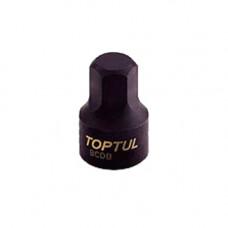 Головка HEX 3мм 1/4 (цельная) Toptul BCDB0803