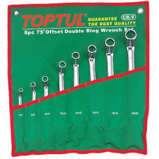Набор накидных ключей 6-22мм (угол 75) 8ед. Topul GAAA0810