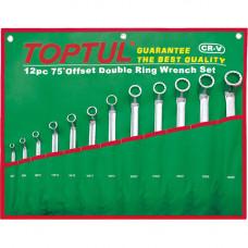 Набор накидных ключей 6-32мм (угол 75) 12ед. Toptul GAAA1204