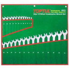 Набор ключей комбинированных 26 шт. 6-32 (полированных) Toptul GAAA2603