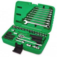 Набор инструмента 1/4 + ключи 49ед. Toptul GCAI4901