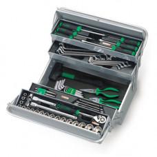 Ящик с инструментом (TBAC0501, 5 секций) 65ед. 1/2  Toptul GCAZ0003