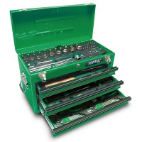 Ящик с инструментом 3 секции 99 ед.