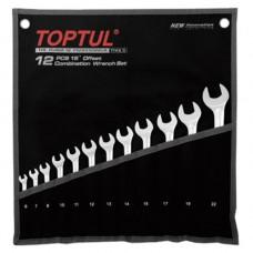Набор ключей комбинированных 12 шт. 6-22  Hi-Performance Toptul GPAX1202