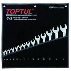 Набор ключей комбинированных 14 шт. 8-32  Hi-Performance Toptul GPAX1401