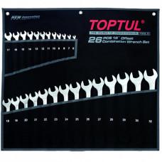 Набор ключей комбинированных 26 шт. 6-32  Hi-Performance Toptul GPAX2601