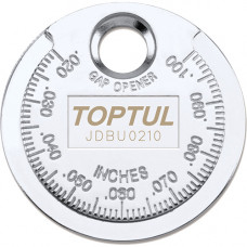 Приспособление типа монета для проверки зазора между элетрод. cвечи Toptul JDBU0210