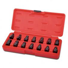 Набор головок для маслосливных пробок 14ед. Toptul JGAI1403