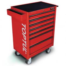 Тележка для инструмента 7 секций (красная) Toptul TCAA0702