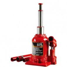 Домкрат бутылочный низкопрофильный двухштоковый 2т 150-370 мм Torin TF0202