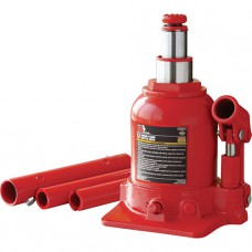 Домкрат бутылочный низкопрофильный двухштоковый 4т 160-390 мм Torin TF0402