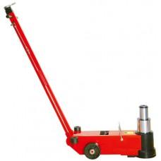 Домкрат подкатной пневмо-гидравлический 50т/25т 235-352/457+120(доп вставки) мм Torin TRA50-2A