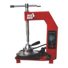 Вулканизатор с винтовым прижимом, температурный контроллер, настольный, 1 нагревательная пластина Torin TRAD001