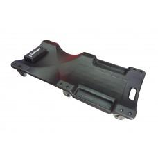 Лежак подкатной 48 (1 220 мм) пластик, 6 колес с подголовником Unitraum UNH6802-2