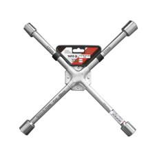 Ключ баллонный крестовой усиленный 17х19х21х22мм Yato YT-0800