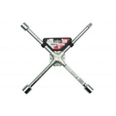 Ключ баллонный крестовой усиленный 17х19х21x1/2 Yato YT-0801