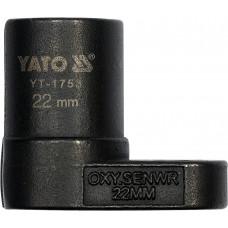 Ключ лямбда-зонда 22 мм YT-1753 Yato YT-1753