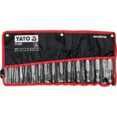 Набор пробойников 15 шт. YT-3591 Yato YT-3591