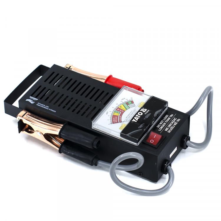 Аналоговый аккумуляторный тестер 6/12 V YT-8310